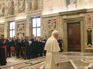 Udienza di Papa Benedetto XVI alla FUCI