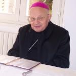 Vescovo Amadei all'inaugurazione della nuova sede FUCI