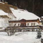 Una immagine del rifugio Madonna delle Nevi