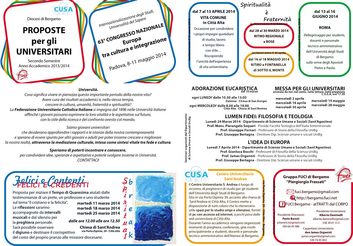 Programma Secondo Semestre 2013-2014